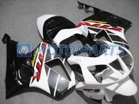 rc51 blanco al por mayor-Personalizar carenados para Honda VTR 1000 R 1000R VTR1000 RVT1000 SP1 SP2 RC51 rojo blanco negro kit de carenado