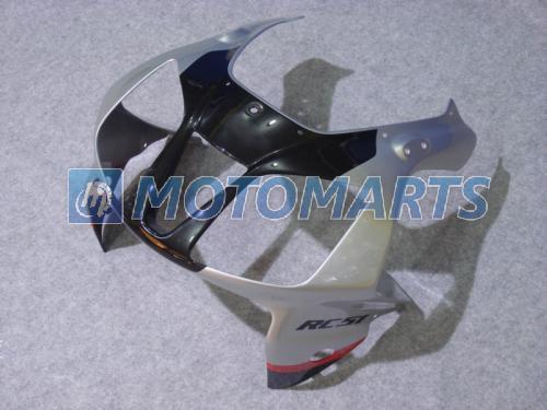 Bundle pour Honda VTR 1000 R 1000R VTR1000 RVT1000 SP1 SP2 RC51 Kit de carénage noir Rouge