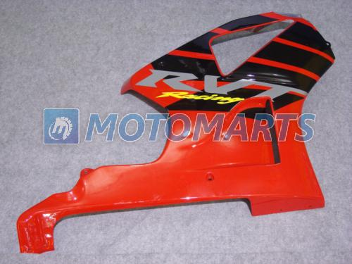 Bundle FOR Honda VTR 1000 R 1000R VTR1000 RVT1000 SP1 SP2 RC51 red black fairing kit & windscreen