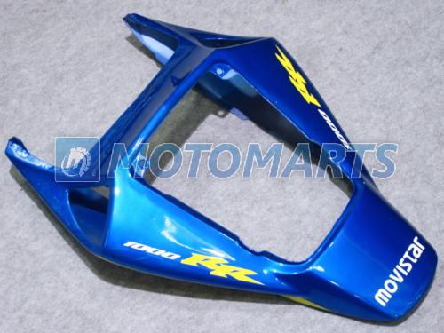 혼다 CBR1000RR 2004 용 MOVISTAR 파란색 사출 페어링 키트 2005 CBR1000 RR 04 05 CBR 1000 04-05