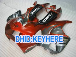 Race Honda Canada - H90 fullset gray orange fairings for Honda CBR900RR 919 1998 1999 CBR 900RR 98 99 Racing fairing kit