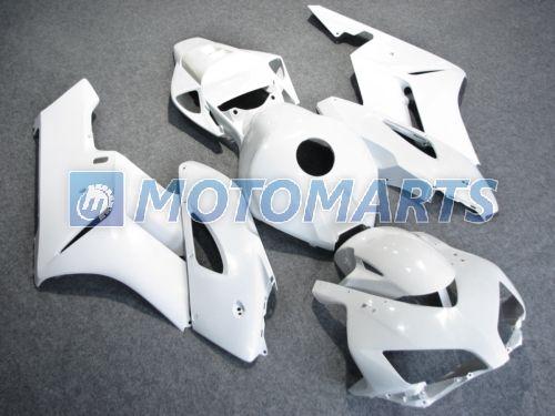 All white Injeção carroçaria kit de carenagem PARA HONDA CBR1000RR 2004 2005 CBR1000 RR 04 05 CBR 100 carenagens kit