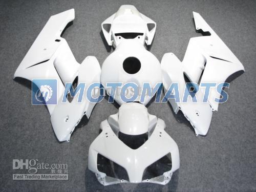 All White Injection Bodywork Fairing Kit för Honda CBR1000RR 2004 2005 CBR1000 RR 04 05 CBR 100 Fairings Kit