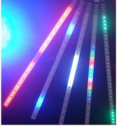 Wholesale Led Smd Strobe Light - LED Car Strip Light Auto Flash explosion Flash Strobe Flexible strip 30led 30cm 10pcs