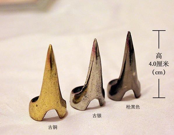 ユニセックスリング牙ネイルリングロックスタイル