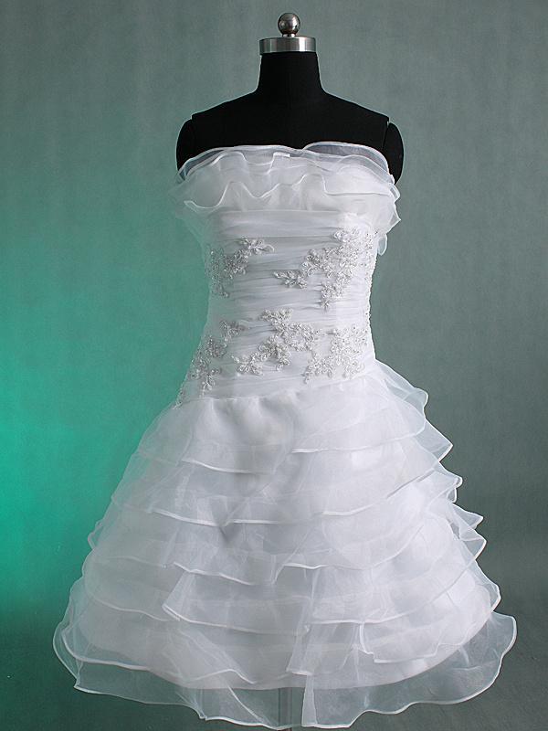 2016 Fashion Real Sample Short Summer Wedding Dresses Beaded ...