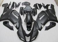 Wholesale Kawasaki Zx6r Matt Black - Body FOR KAWASAKI Ninja ZX6R ZX-6R 636 07-08 6R 07 08 2007 2008 matt Black Full Fairing