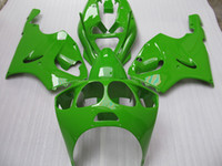 Wholesale kit zx7r for sale - Group buy K7603 Green Fairing Kit for KAWASAKI Ninja ZX7R ZX R ZX R ZZR