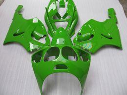 Zzr livelle verdi online-K7603 Kit carenatura verde per KAWASAKI Ninja ZX7R ZX-7R ZX 7R ZZR 750 1996-2003 96 97 98 99 00 01 02