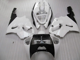 $enCountryForm.capitalKeyWord Canada - White black Fairing kit for Kawasaki ZX-7R 96-03 ZX7R Ninja ZZR 750 1996 - 2003 year model