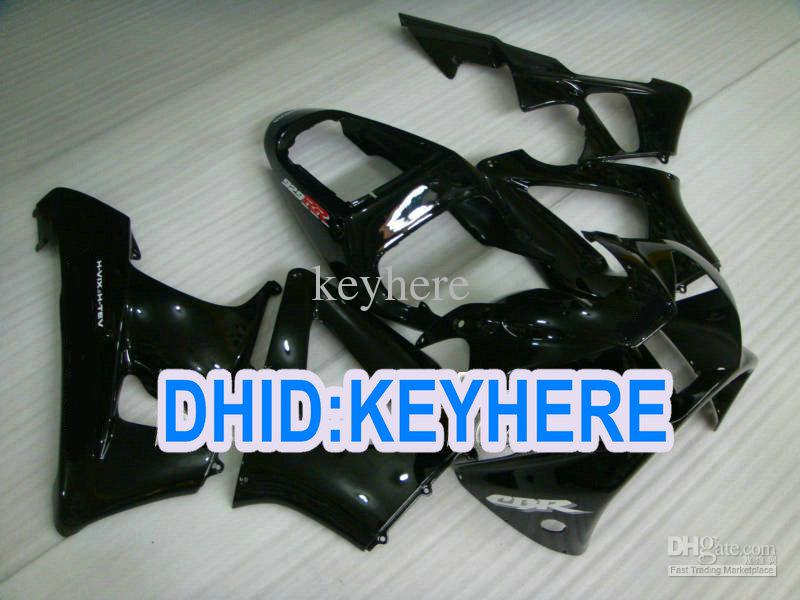 H102 Pas Glanzende Zwarte Verklei voor Honda 2000 2001 CBR900RR 929 CBR 900RR 00 01 Racing Fairing