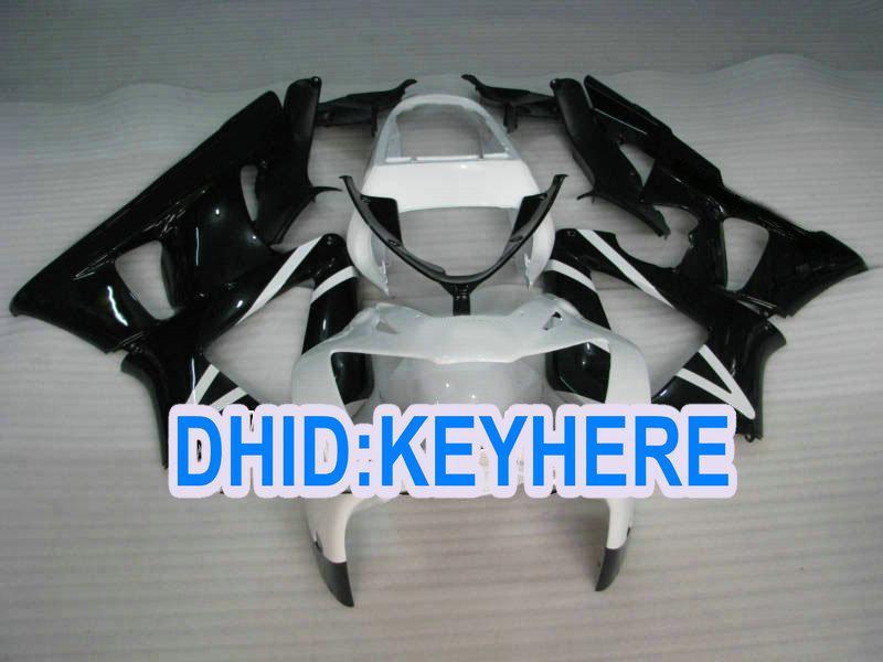 H113 beyaz siyah yarış bodywork fit Honda 2000 için 2001 CBR900RR 929 CBR 900RR 00 01 fairing