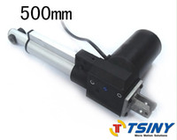 Wholesale Dc Electric Linear Actuator - Stroke 500mm=20inches DC 24V 5000N=1102lb Linear actuator,Electric actuator for Hospital Bed,DIY parts From TSINY MOTOR