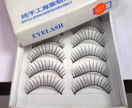 Soft False Eyelashes Canada - Thick Soft Long False Eyelashes Eye Lashes special for party False Eyelashes wholesale Free