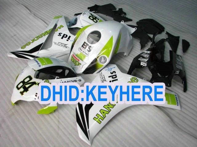 Honda CBR1000RR için H145 Enjeksiyon hannspree yarış kaporta kiti 2008-2011 CBR1000 RR 08 09 10 11