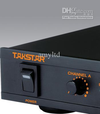 2X100 VHF Takstar TS-6310 6310HH 휴대용 무선 마이크 시스템 Mic with retail packaging