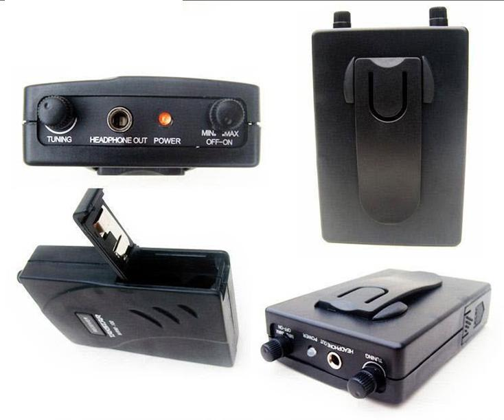 Nieuwe Takstar in Ear Professional Stage Wireless Monitor System Receiver + Transmitter + Oortelefoon GRATIS