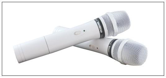 New TAKSTAR TS-6720 VHF Wireless Microphone System Professional VHF Karaoke Engineering Mic Hot 50%
