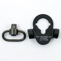 Wholesale Troy Qd Mount - Troy Steel Dual Side QD Sling Swivel Steel Mount For GBB Version Black Tan