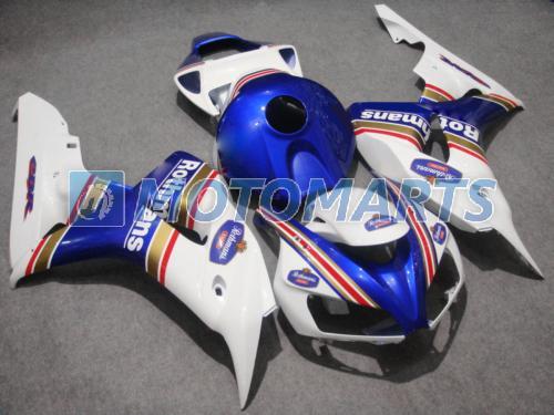 Azul Rothmans moldado por injeção kit carenagem Para Honda CBR 1000 RR 06 07 CBR1000 CBR1000RR 2006 2007