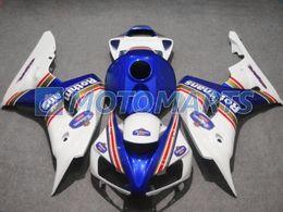 carrinhos de rothmans honda Desconto A injeção azul de Rothmans moldou o jogo da carenagem para Honda CBR 1000 RR 06 07 CBR1000 CBR1000RR 2006 2007