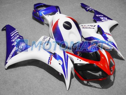 Kit de carenagem moldado por injeção de HRC para Honda CBR 1000 RR 06 07 CBR1000 CBR1000RR 2006 2007