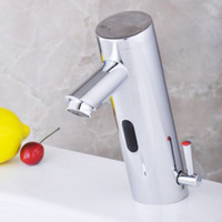 Wholesale Touch Free Sensor Tap - NEW Hot Cold Mixer Automatic Hand Touch Free Sensor Faucet B Sink Tap