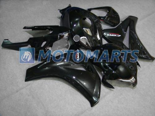 Kit de carénage corps d'injection noir Pour CBR1000RR CBR1000 08 09 10 CBR 1000RR 2008 2009 2010 2011