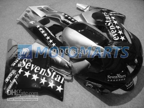7 Star Fairing Kit för Honda CBR600 F2 91 92 93 94 CBR600F2 1991 1992 1993 1994 CBR 600 CBRF2 Fairings Kit