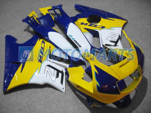 Tankafdekking Witte blauwe kuipset voor HONDA CBR600 F2 91 92 93 94 CBR600F2 1991 1992 1993 1994 CBR 600 CBRF2 X1