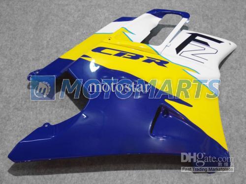 Tampa do tanque kit de carenagem azul branco para Honda CBR600 F2 91 92 93 94 CBR600F2 1991 1992 1993 1994 CBR 600 CBRF2 X1