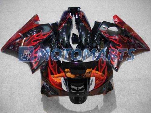 Tampa do tanque kit de carenagem de chama vermelha para Honda CBR600 F2 91 92 93 94 CBR600F2 1991 1992 1993 1994 CBR 600 CBRF2 v1