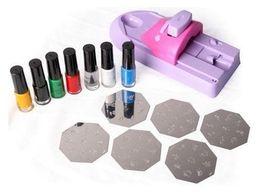 Wholesale Nail Machine Print - Nail Stamp Nail Polish Nail Art Printing Color Machine DIY Stamp Machine do drop ship 1pcs