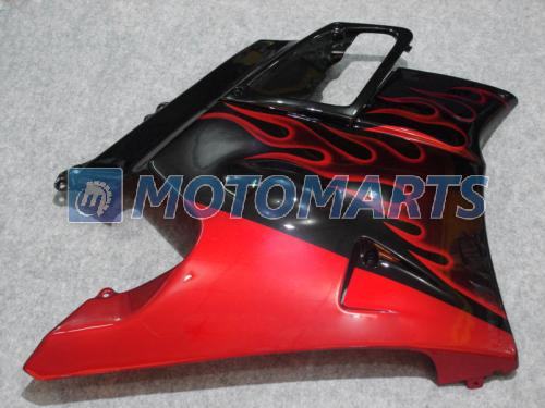 Tankdeckel rot flamme verkleidung kit Für Honda CBR600 F2 91 92 93 94 CBR600F2 1991 1992 1993 1994 CBR 600 CBRF2 v1