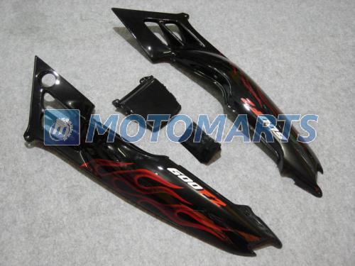Tank cover red flame fairing kit For Honda CBR600 F2 91 92 93 94 CBR600F2 1991 1992 1993 1994 CBR 600 CBRF2 v1