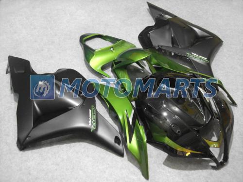 Gloss Green Injectie Fairing Kit voor CBR600RR 2009 2010 2011 CBR 600RR CBR 600 RR F5 09 10 11