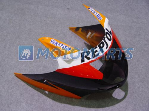 Grátis Personalizar orange kit de carenagem REPSOL PARA Honda CBR1100 pássaro preto CBR1000XX CBR 1100 1100XX carenagem kit