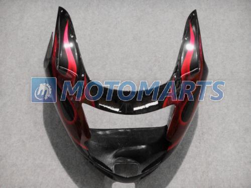 Red Flame Fairing Kit voor Honda CBR1100 Black Bird CBR1000XX CBR 1100 1100XX Motorfiets Body Fairing Kit