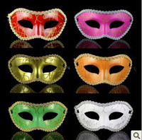 Wholesale Free Role Playing - Hot New Party Masks Halloween Venetian mask,Party masks,Christmas masquerade masks,Role-play masks free shipping