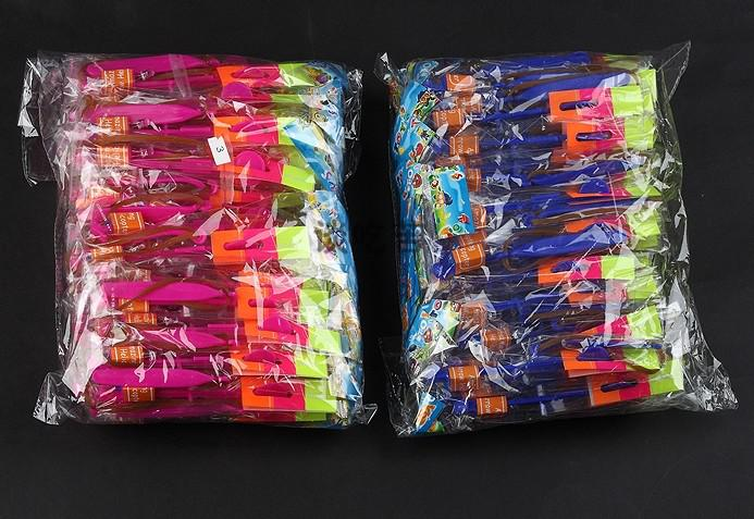 100pcs* Rubber band catapult LED Flying Gyro the Arrows helicopter flying umbrella children toys