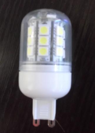 10ピースG9 5050SMD LEDの電球ライト27LEDランプライト省エネライト
