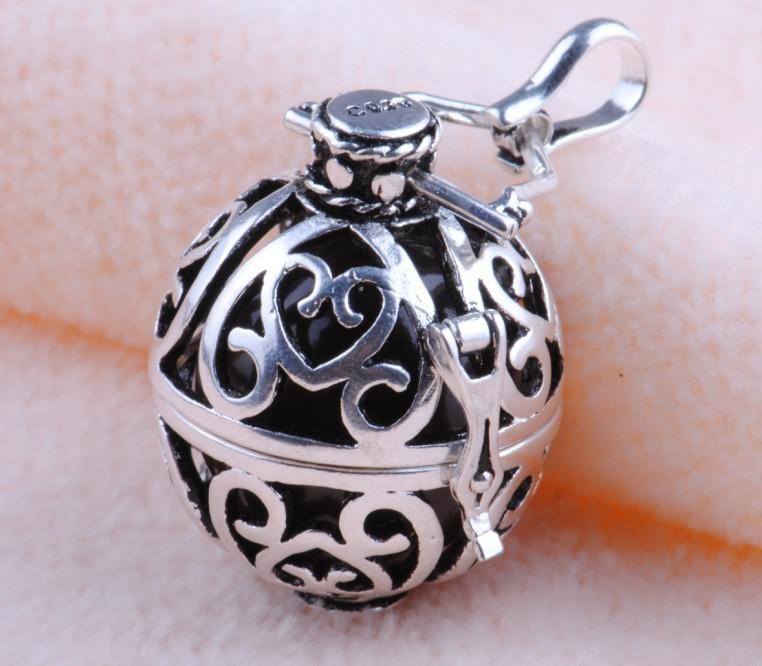 Wholesale h9 20 d4 925 sterling silver harmony ball sounds mexican wholesale h9 20 d4 925 sterling silver harmony ball sounds mexican bola pendant fine jewelry pendant necklaces from romanticworks 737 dhgate aloadofball Image collections