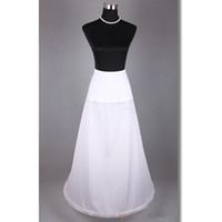 Wholesale High Waist Petticoats - Free Shipping Cheap High Quality Spandex Waist A line underskirt vintage petticoat evening wedding dress slip