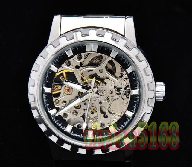 fashional watch luxury men automatic mechanical watches stainless fashional watch luxury men automatic mechanical watches stainless steel personality man watch skeleton watch watches aaa