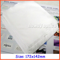 Wholesale Microfiber Cleaning Cloth White - 172x142mm,neddle 2 white microfiber cleaning cloth,glasses cleaning cloth,lens cloth,Free shipping!