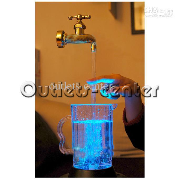 Multi Color Water Faucet Lamp Led Floating Faucet 220v Lg150016 ...