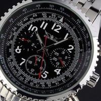 Wholesale Sports Diving Wrist Watch - luxury men watches automatic stainless dive transparent mechanical mens sport wrist watch jaragar