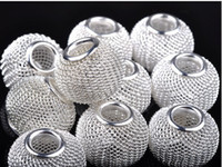 Wholesale Craft Basketball Beads - Mixed colors basketball wives earrings craft mesh beads feshion bead 100pcs beautiful ytu