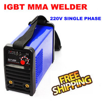 ingrosso stock di arco-200 Amp IGBT ARC / MMA Saldatrice 110 / 220V zx7-200 Disponibile spedizione gratuita