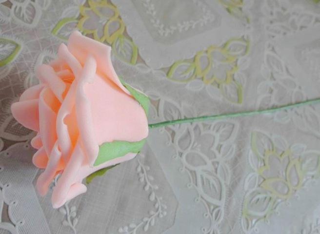 Dia.7cm 인공 시뮬레이션 PE 폼 EVA 동백 로즈 웨딩 크리스마스 신부의 꽃